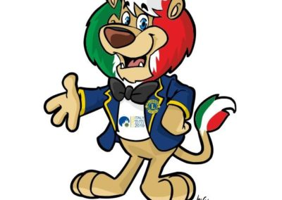 1 mascotte-leone-marketing-industria-lions-international-valentino-villanova