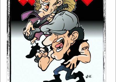 13 caricature-valentino-villanova-acdc-angus-music-rock