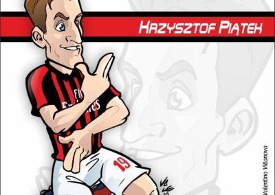 4 caricature-valentino-villanova-piatek-milan-calcio-gazzetta-dello-sport