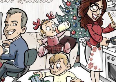 5 caricature-valentino-villanova-famiglia-natale-regalo-originale