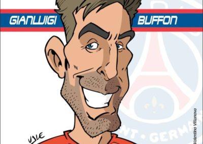 5 caricature-valentino-villanova-gigi-buffon-psg-calcio-gazzetta-dello-sport