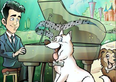 8 caricature-valentino-villanova-pianista-cani-rmusica-regalo-originale