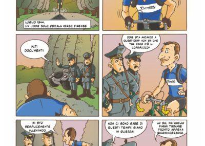 a colpi di pedale gino bartali fumetto