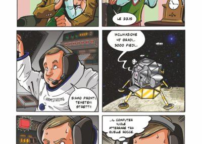 destinazione luna fumetto aci nasa
