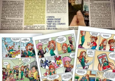 febbraio 2018- CYBER, il fumetto sul Cyberbullismo