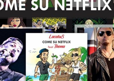 "luglio 2018- Video cartoon ""Come su Netflix"""