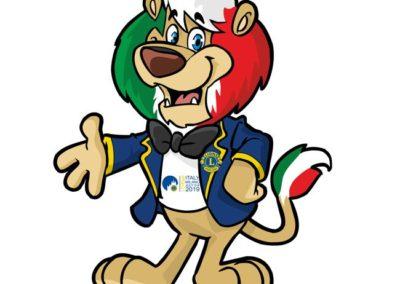 settembre 2018- Mascotte Lions Internazionale Milano